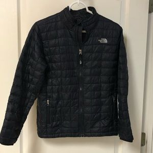 Boys North Face Thermoball Jacket Size L 14/16